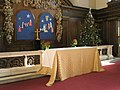 Christmas altar at St James, Piccadilly - geograph.org.uk - 1102402.jpg