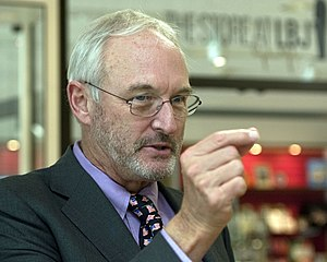 Christopher Buckley (novelist) - Buckley at the LBJ Presidential Library, May 2012