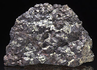 Chromite spinel, oxide mineral