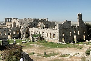 Church of Saint Simeon Stylites - Overview of the complex