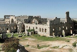 Church of Saint Simeon Stylites Historical church northwest of Aleppo, Syria