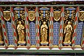 Church of St Andrew, Nuthurst, West Sussex - chancel altar table niches, centre.jpg