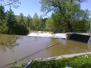 Kingsey Falls, Quebec - Image: Chute Kingsey Falls