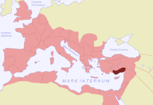 Cilicia (Roman province) - Roman Cilicia highlighted