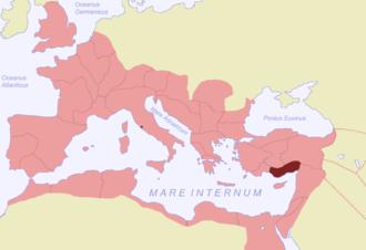 Cilicia (Roman province) - Roman Cilicia highlighted