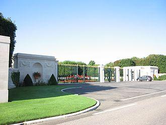 St. Mihiel American Cemetery and Memorial - Image: Cimetière américain du Saillant de Saint Mihiel