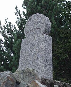 Fra Dolcino - 1974 Frà Dolcino memorial stone on Monte Rubello
