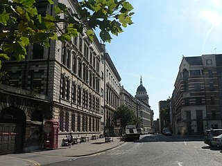 Giltspur Street Street in the City of London