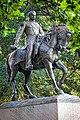 Civil War general Phillip Sheridan statue in Albany.jpg