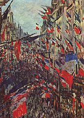 Rue Saint Denis, fête du 30 juin 1878