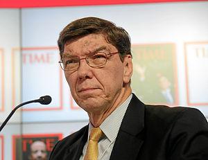 Clayton M. Christensen - Christensen at the World Economic Forum Annual Meeting in 2013