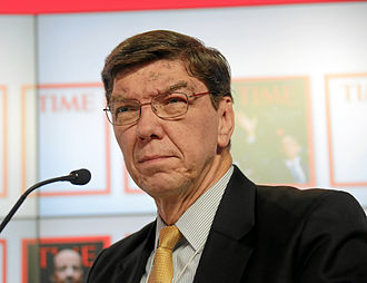 Clayton M. Christensen - Christensen at the World Economic Forum Annual Meeting in 2013
