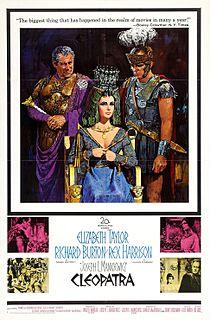 <i>Cleopatra</i> (1963 film) 1963 historical drama film by Joseph L. Mankiewicz