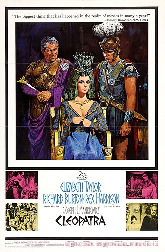 Cleopatra (1963 film) - Original theatrical release poster
