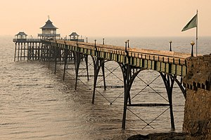 Clevedon - Clevedon Pier, which opened in 1869
