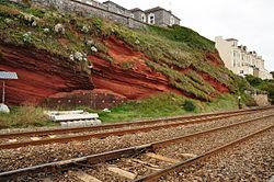 Cliffs above the sea wall in Dawlish (7242).jpg