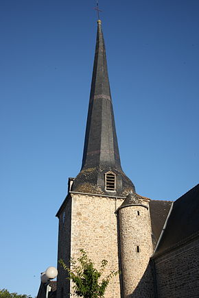 Clocher Eglise saint-Pierre Québriac.JPG