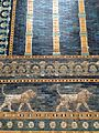 Close-up of Ishtar Gate tiles, Pergamon Museum 2.jpg