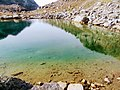 Closeup of lake water Lille Malene hike near Nuuk Greenland.jpg