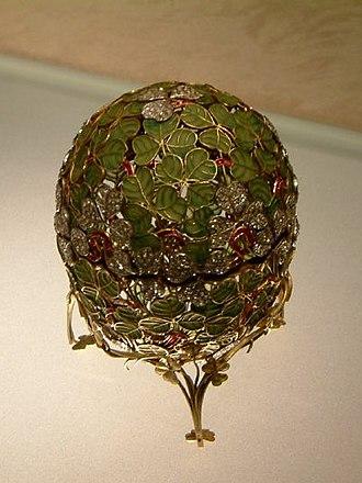 Clover Leaf (Fabergé egg) - Clover Leaf Egg