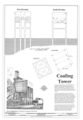Coaling Tower Elevations - Western Railway of Alabama Montgomery Rail Shops, 701 North Perry Street, Montgomery, Montgomery County, AL HAER AL-186 (sheet 14 of 14).png