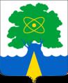 Герб города Дубна, Московская область, Россия