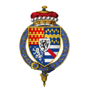 Francis Lovell, 1st Viscount Lovell - Arms of Sir Francis Lovell, 1st Viscount Lovell, KG