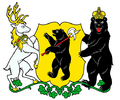 Coat of arms of Yaroslavl Oblast (without hat).png