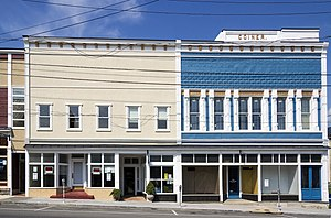 National Register of Historic Places listings in Clarke County, Virginia - Image: Coiner's Department Store Berryville VA1