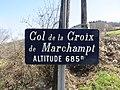 Col de la Croix de Marchampt - Panneau (mars 2019).jpg