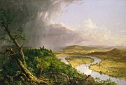 Cole Thomas The Oxbow (The Connecticut River near Northampton 1836)