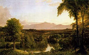 Catskill (town), New York - Thomas Cole, View on the Catskill, Early Autumn, 1837