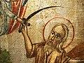 Colección Miguel Gallés Icono árabe Sacrificio de Abraham XIX (detalle).JPG