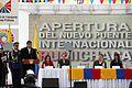 Colombia, Apertura del nuevo puente internacional de Rumichaca. (11058571976).jpg