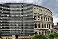 Colosseum under renovation in Rome, Italy (Ank Kumar) 03.jpg