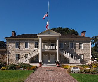 Constitution of California - Colton Hall in Monterey, site of the 1849 Constitutional Convention