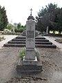 Column, Soviet Military Cemetery, Alsovaros, 2016 Szekszard.jpg