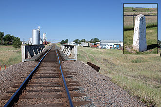National Register of Historic Places listings in Arapahoe County, Colorado - Image: Comanche Crossing