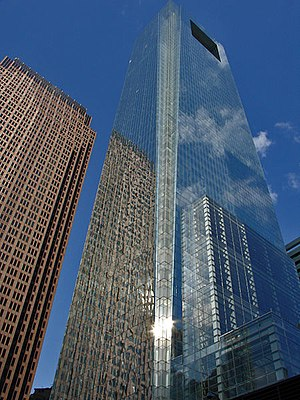 Economy of Philadelphia - Comcast Center, Philadelphia's newest office building and Pennsylvania's tallest building