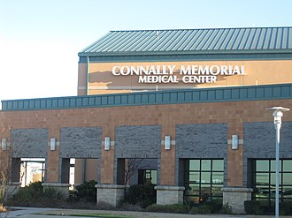 John Connally - The Connally Memorial Medical Center on U.S. Highway 181 in Floresville