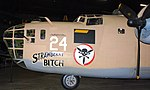 """Consolidated B-2D Liberator """"Stawberry Bitch"""", National Museum of the US Air Force, Dayton, Ohio, USA. (43931086075).jpg"""