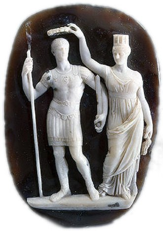 Battle of Adrianople (324) - Image: Constantine cameo