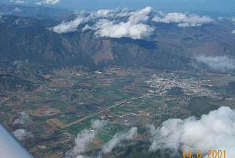 Constanza, Dominican Republic - Aerial view of Constanza