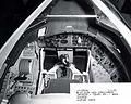 Convair B-58A pilots compartment with escape capsule installed 061101-F-1234P-026.jpg