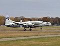 Convair NC-131H TIFS lifting off.jpg