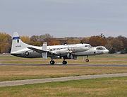 Convair NC-131H TIFS lifting off