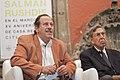 Conversando con Salman Rushdie, Museo de la Ciudad de Mexico (15265371899).jpg