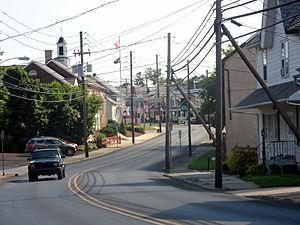 Coopersburg, Pennsylvania - Image: Coopersburg Lehigh County