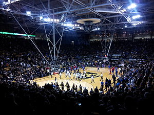 Coors Events Center - Image: Coors vs. KU 2013