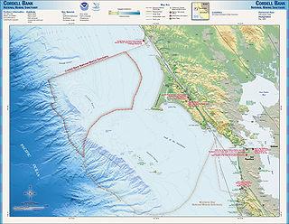 marine protected area off of California, USA
